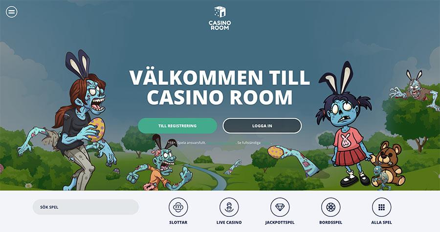 Casino Room hemsida