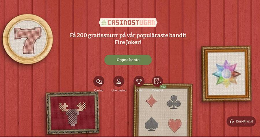 Casinostugans bonuserbjudande