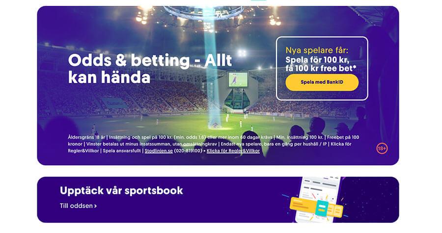 Casumo odds sportsbook betting